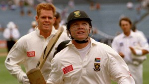 Darryll Cullinan Shaun Pollock Getty Images