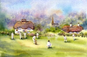 Claire-Warner-watercolor-Cricket-on-the-Green
